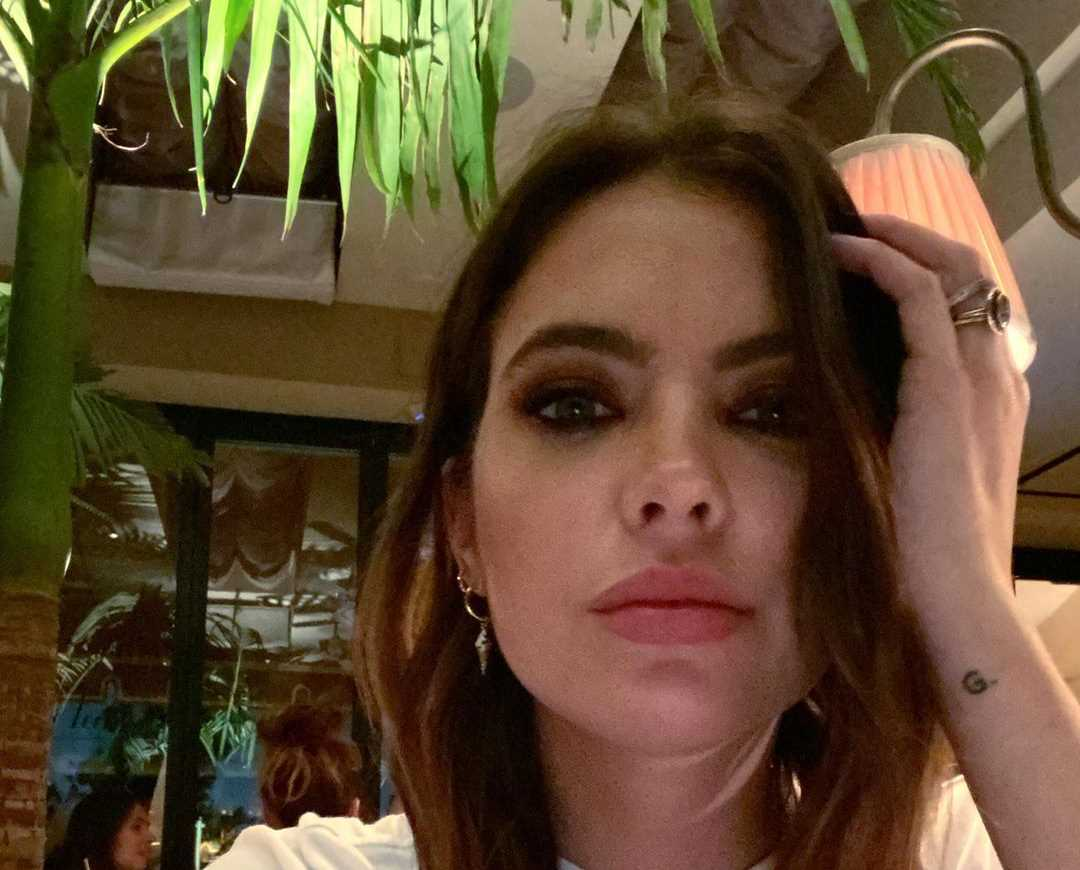 Ashley Benson's Instagram Live Stream from November 29th 2019.