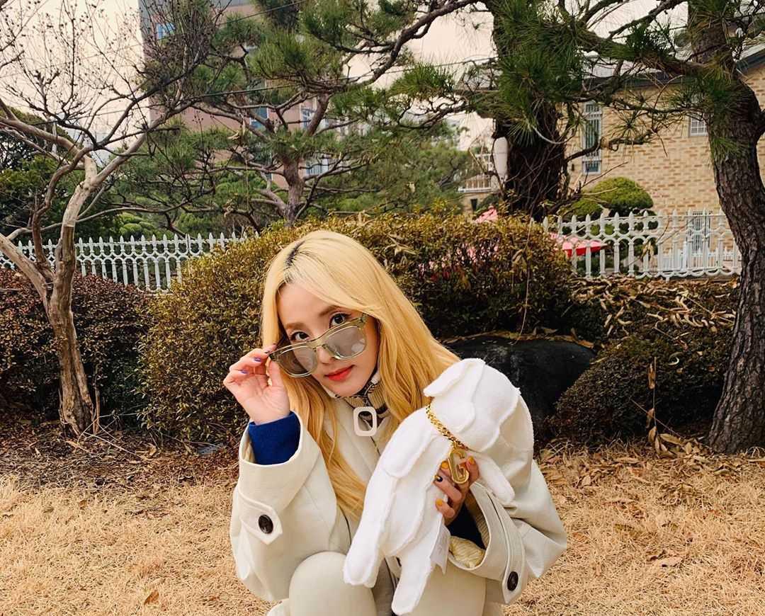 Sandara Park ( 박산다라 )'s Instagram Live Stream from December 14th 2019.
