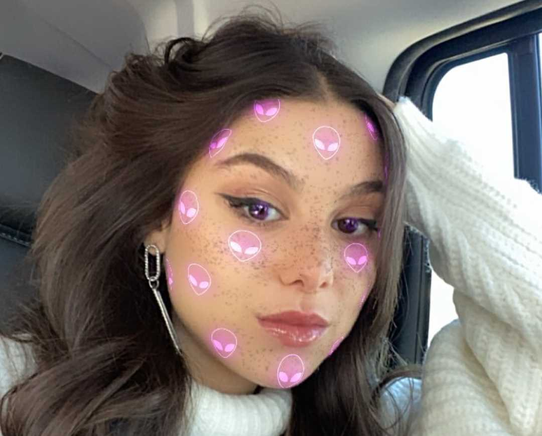 Kira Kosarin's Instagram Live Stream from December 19th 2019.