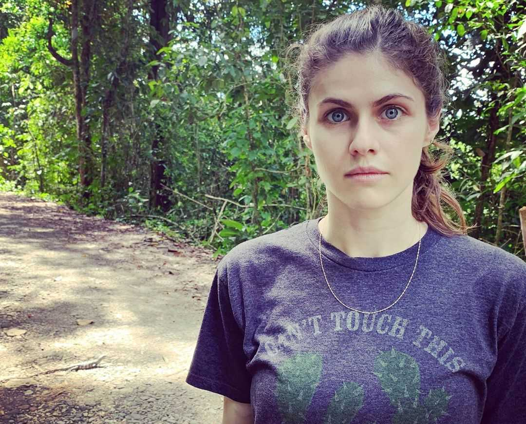 Alexandra Daddario's Instagram Live Stream from January 12th 2020.