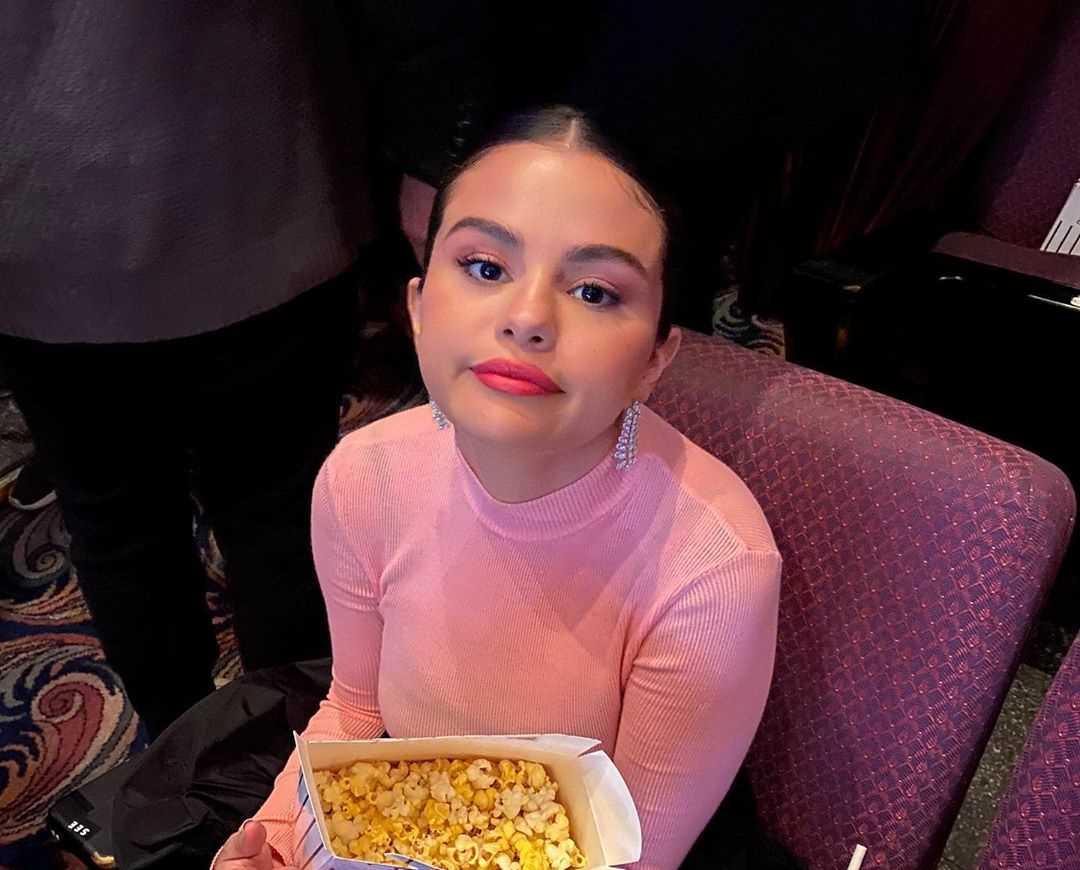 Selena Gomez's Instagram Live Stream from January 11th 2020.