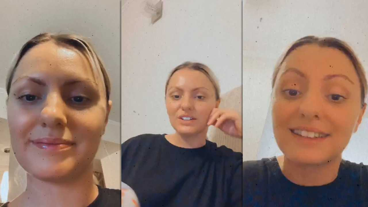 Alexandra Stan's Instagram Live Stream from March 24th 2020.