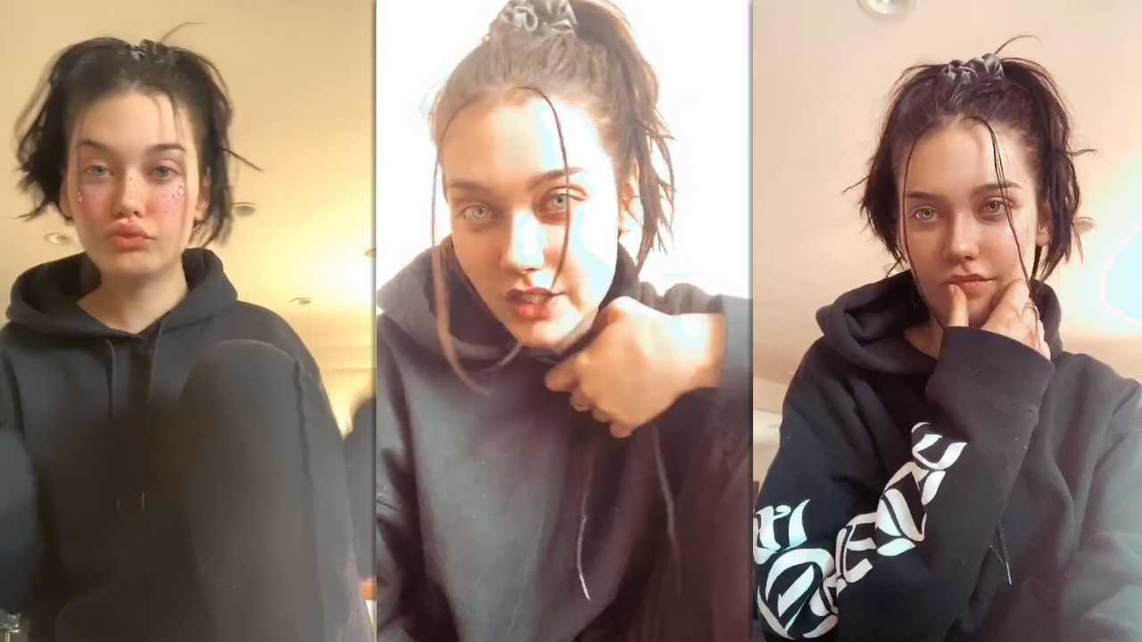Amanda Steele's Instagram Live Stream from March 25th 2020.