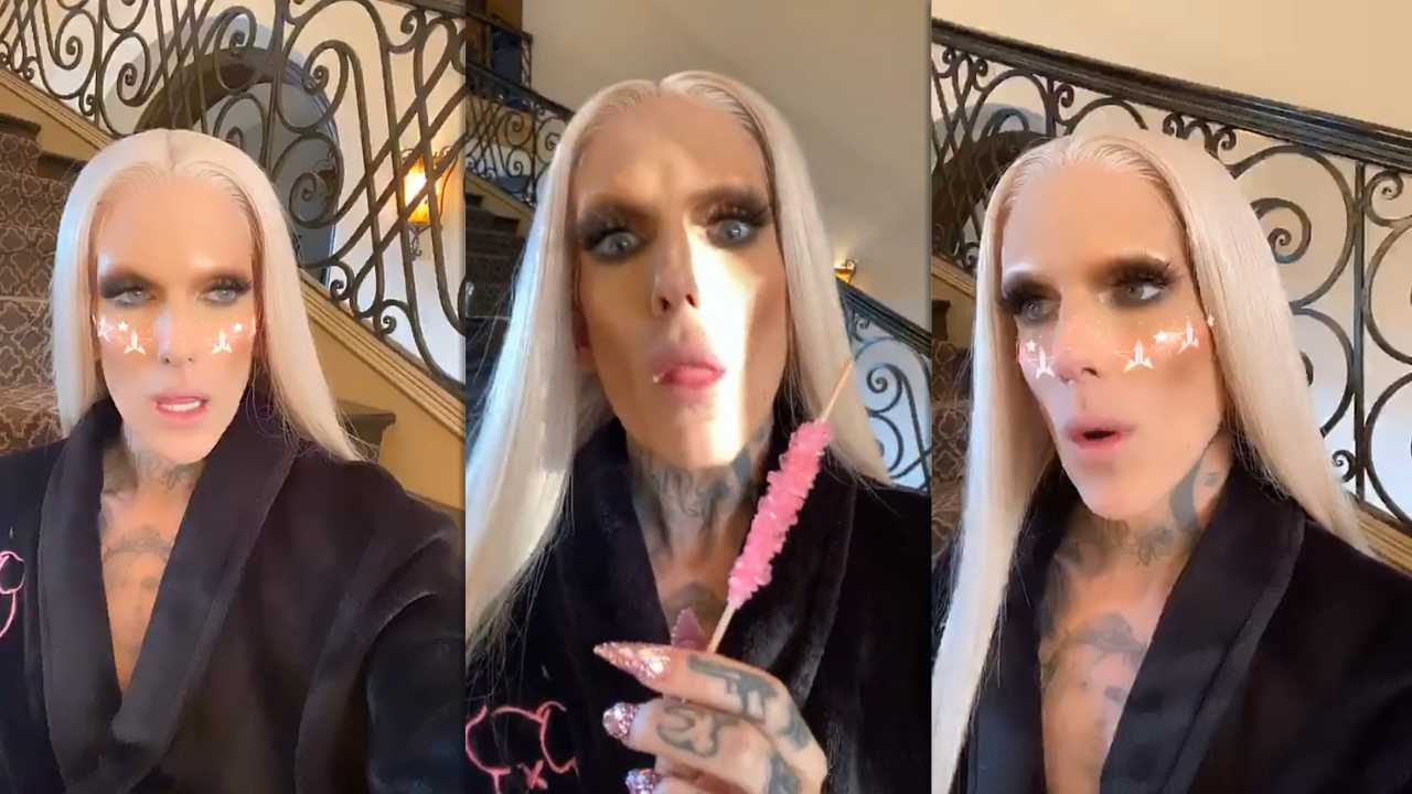 Jeffree Star's Instagram Live Stream from March 18th 2020.