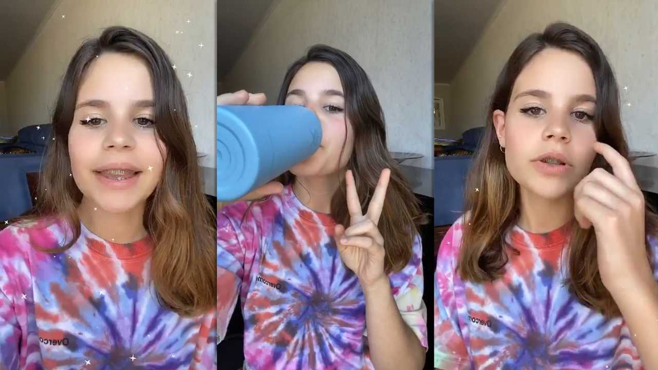 Luara Fonseca's Instagram Live Stream from March 30th 2020.