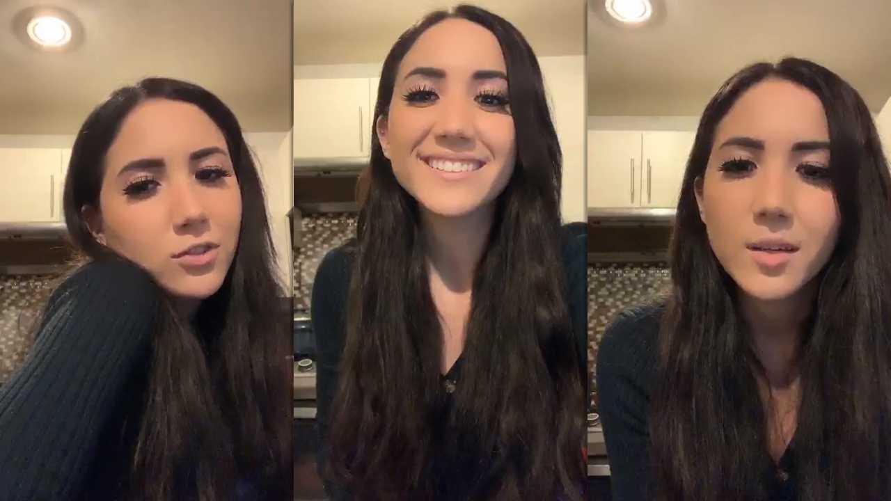 Carolina Díaz's Instagram Live Stream from March 24th 2020.