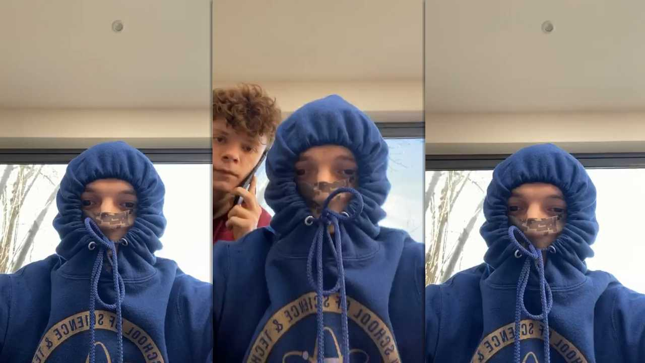 Tom Holland's Instagram Live Stream from March 22th 2020.