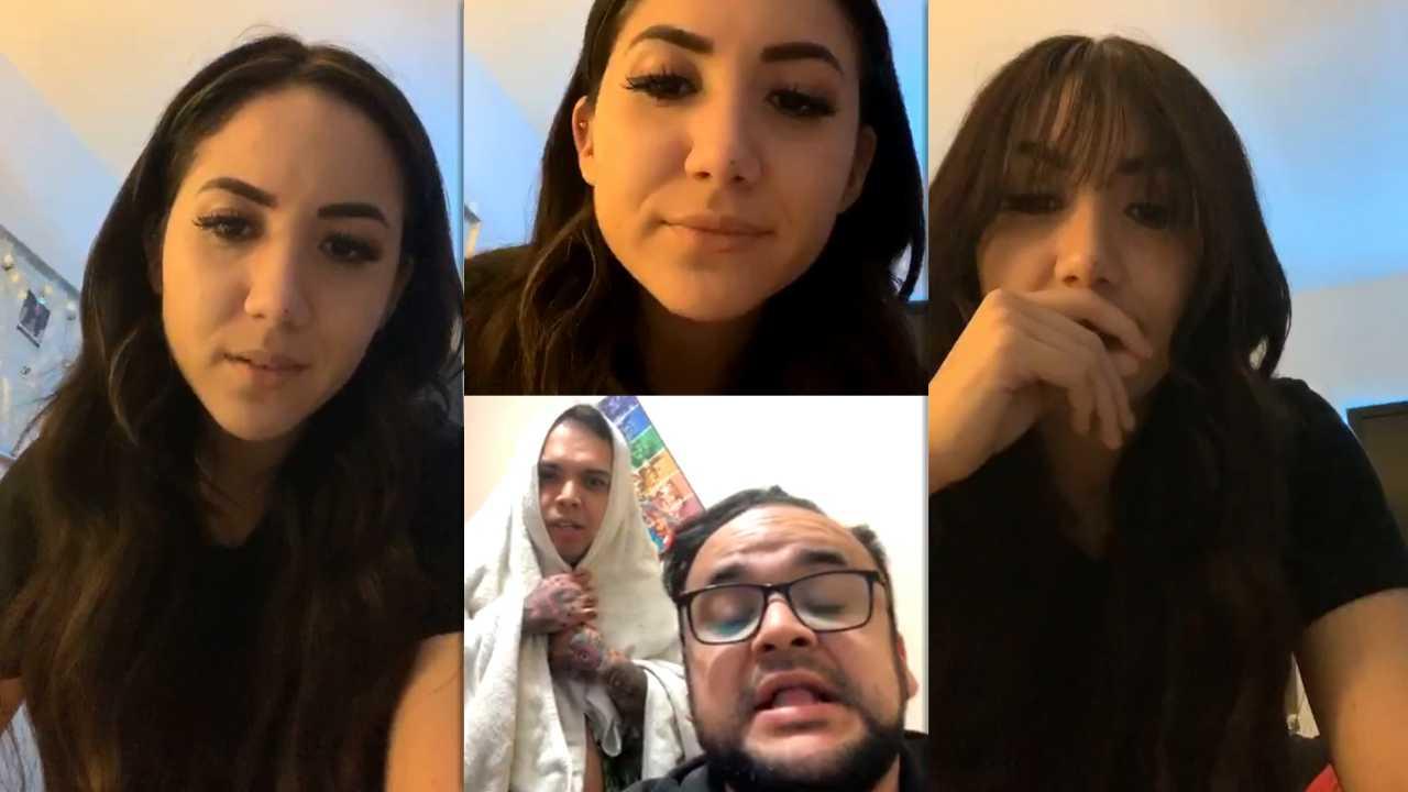 Carolina Díaz's Instagram Live Stream from April 15th 2020.