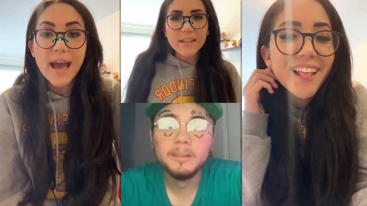Carolina Díaz's Instagram Live Stream from April 9th 2020.