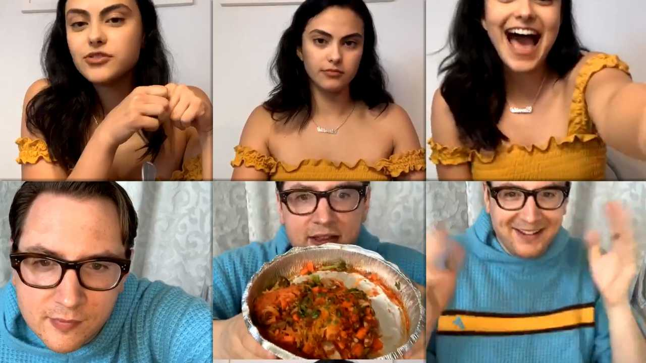 Camila Mendes Instagram Live Stream from May 11th 2020.