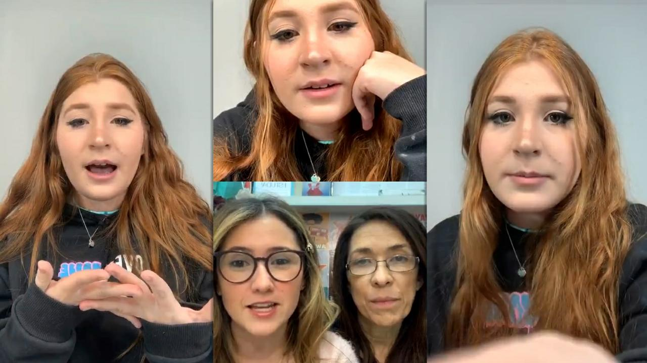 Giu Garcia's Instagram Live Stream from May 22th 2020.