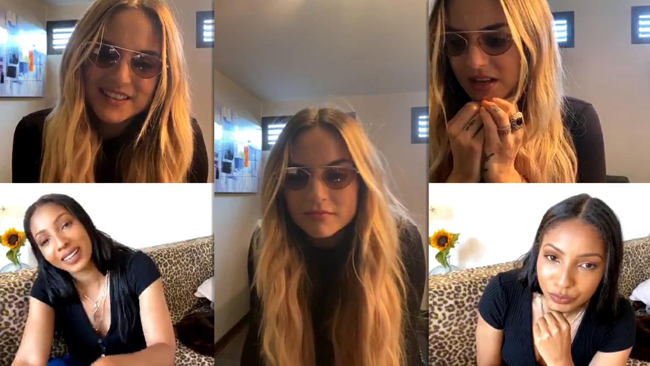 "Joanna ""JoJo"" Levesque's Instagram Live Stream from May 22th 2020."
