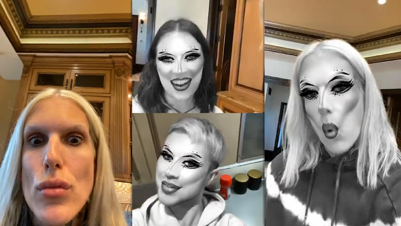 Jeffree Star's Instagram Live Stream from May 18th 2020.
