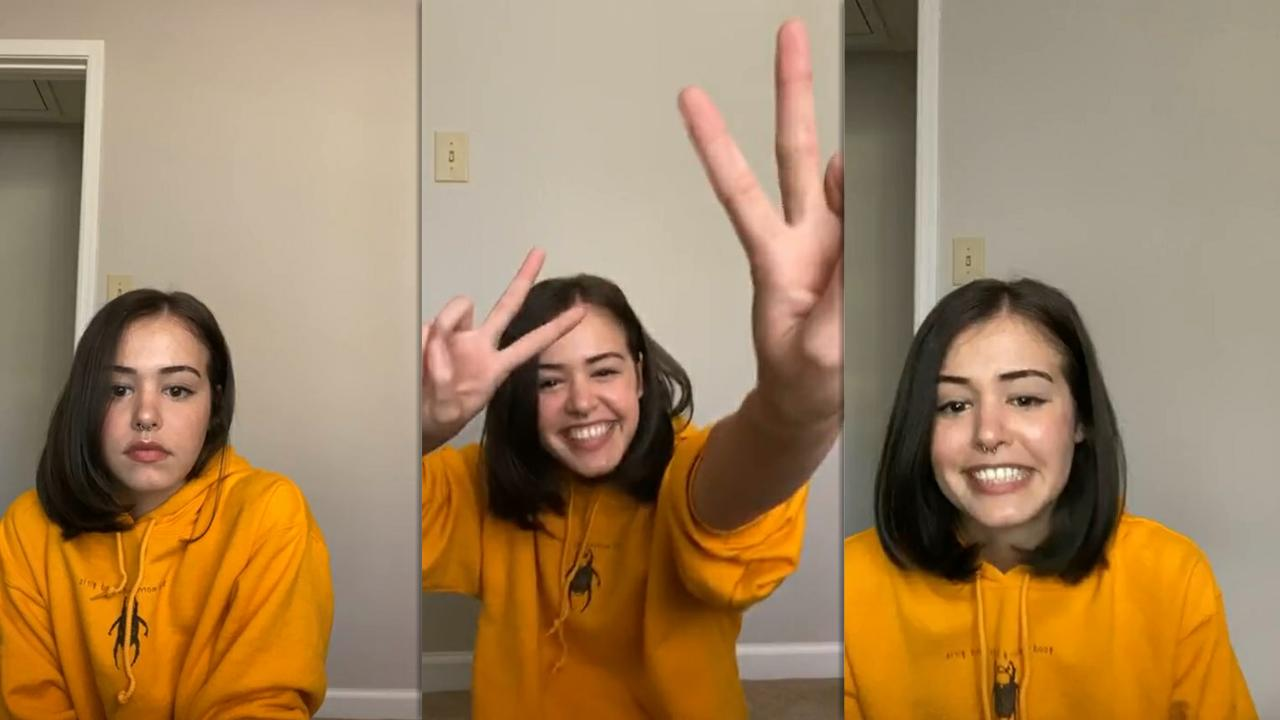 Kaylee Bryant's Instagram Live Stream from May 25th 2020.