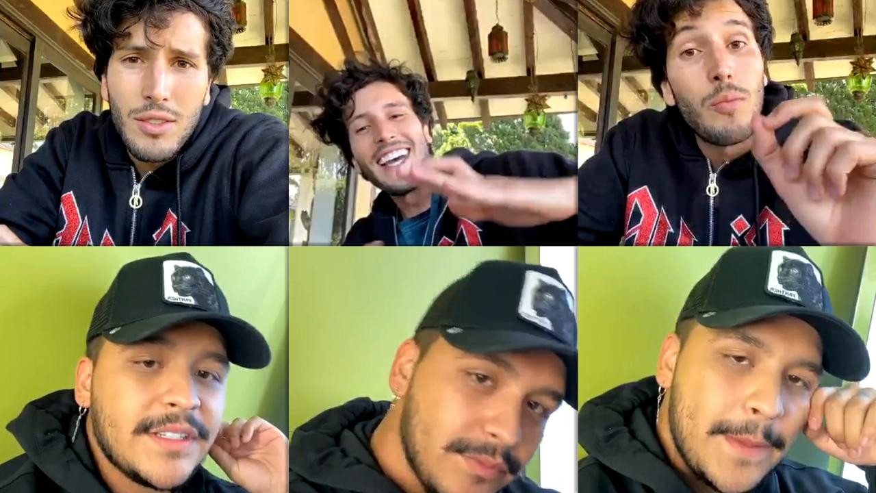 Sebastián Yatra's Instagram Live Stream from May 26th 2020.