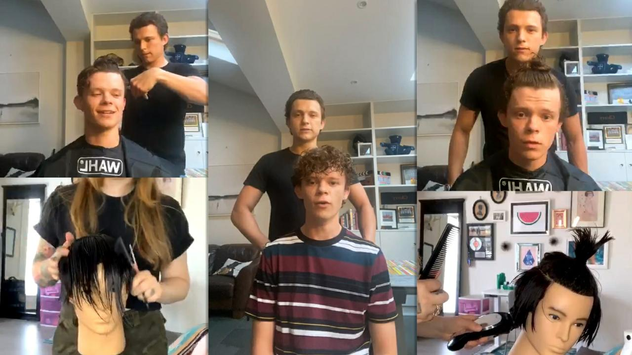 Tom Holland's Instagram Live Stream from May 27th 2020.