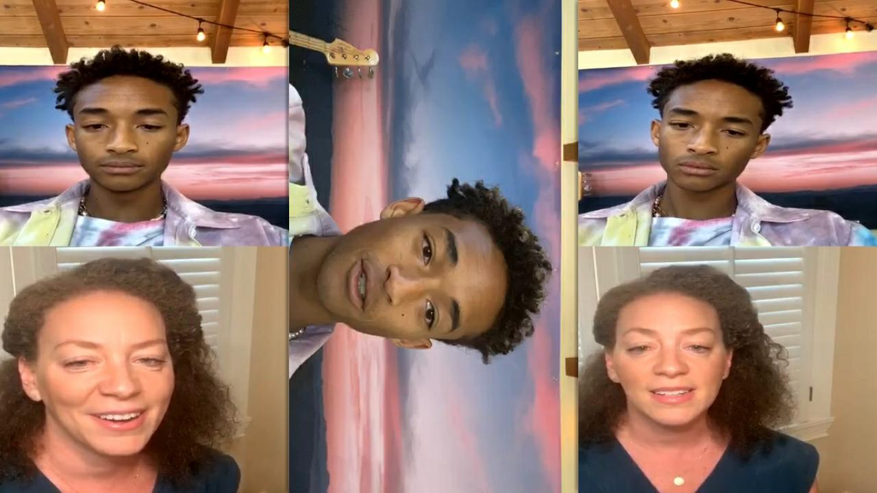 Jaden Smith's Instagram Live Stream from July 29th 2020.