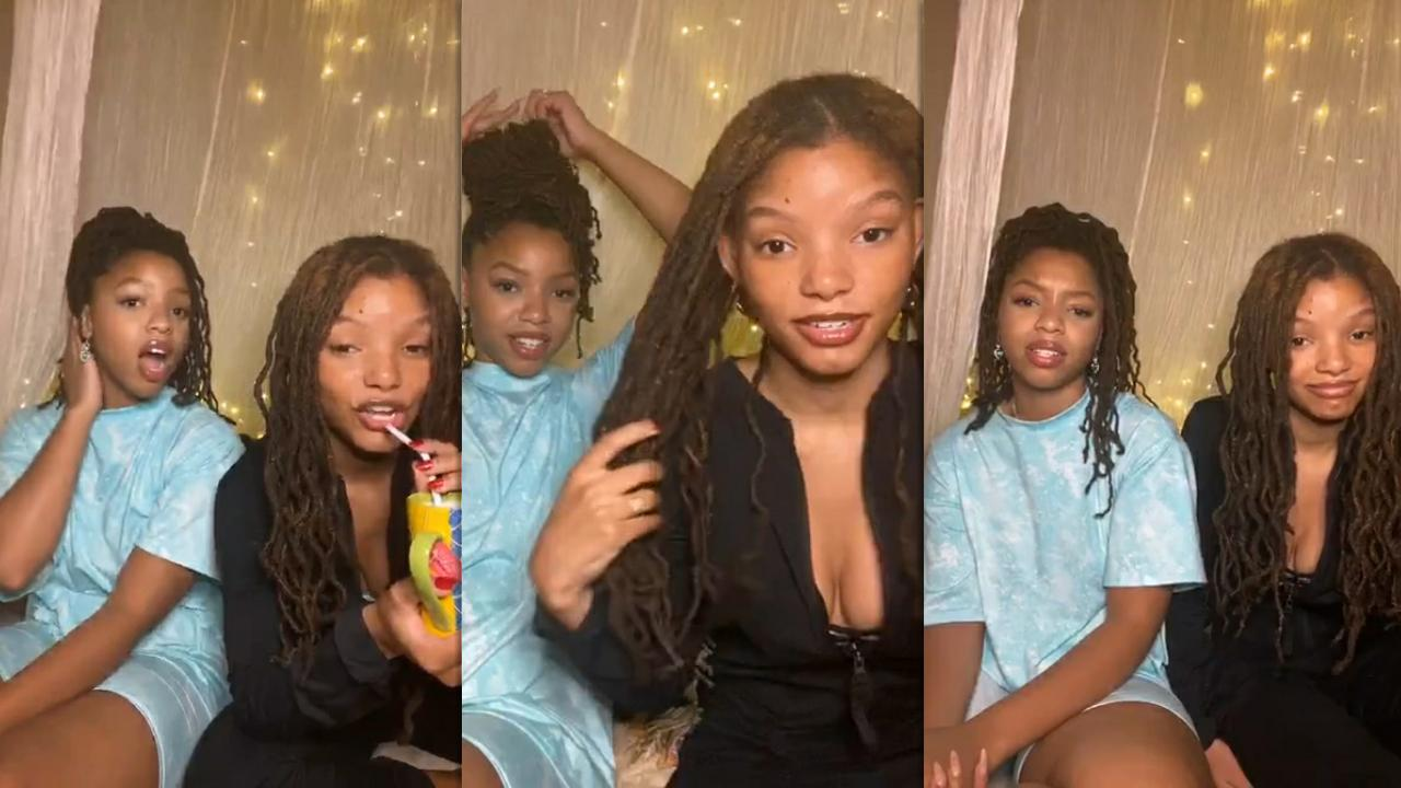 Chloe x Halle's Instagram Live Stream from July 23th 2020.