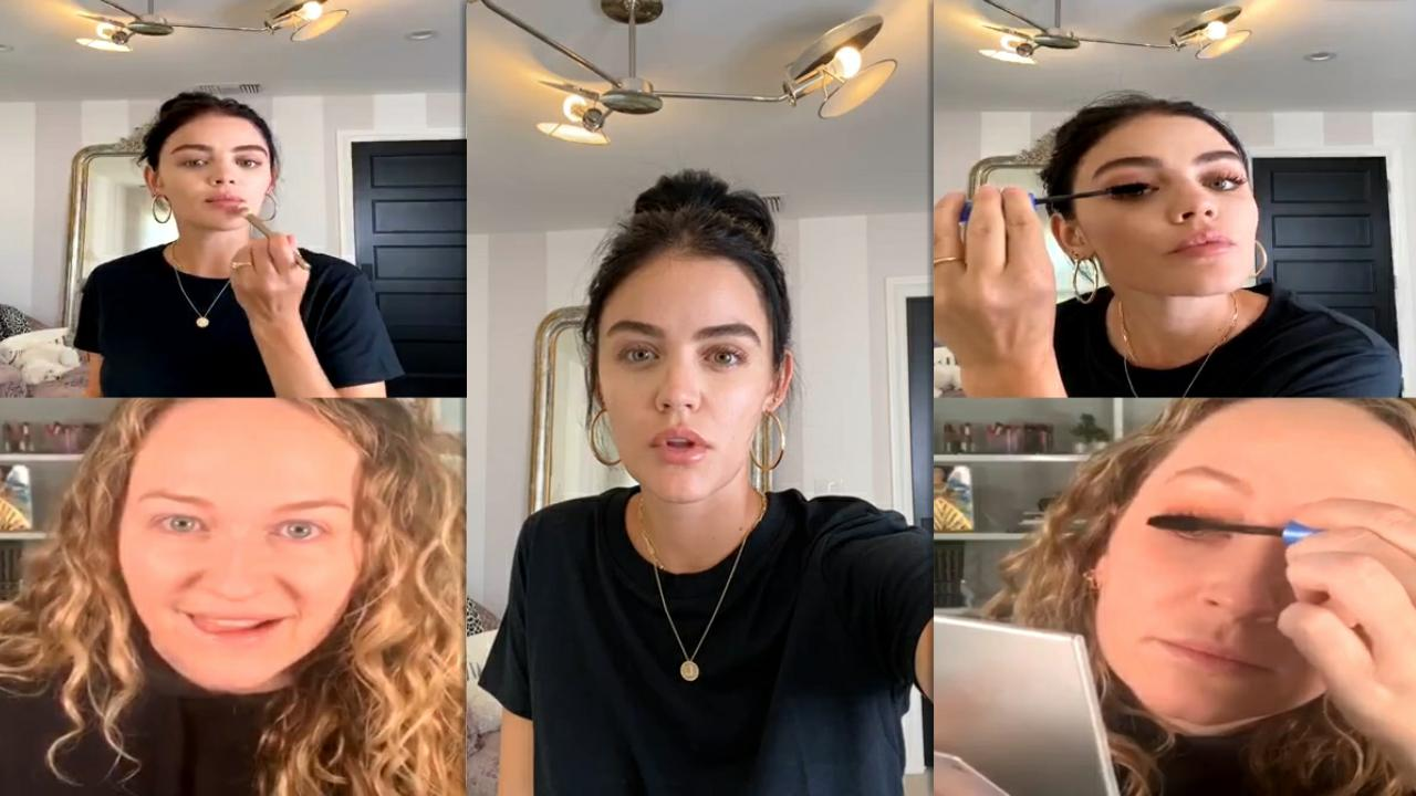 Lucy Hale's Instagram Live Stream from July 30th 2020.