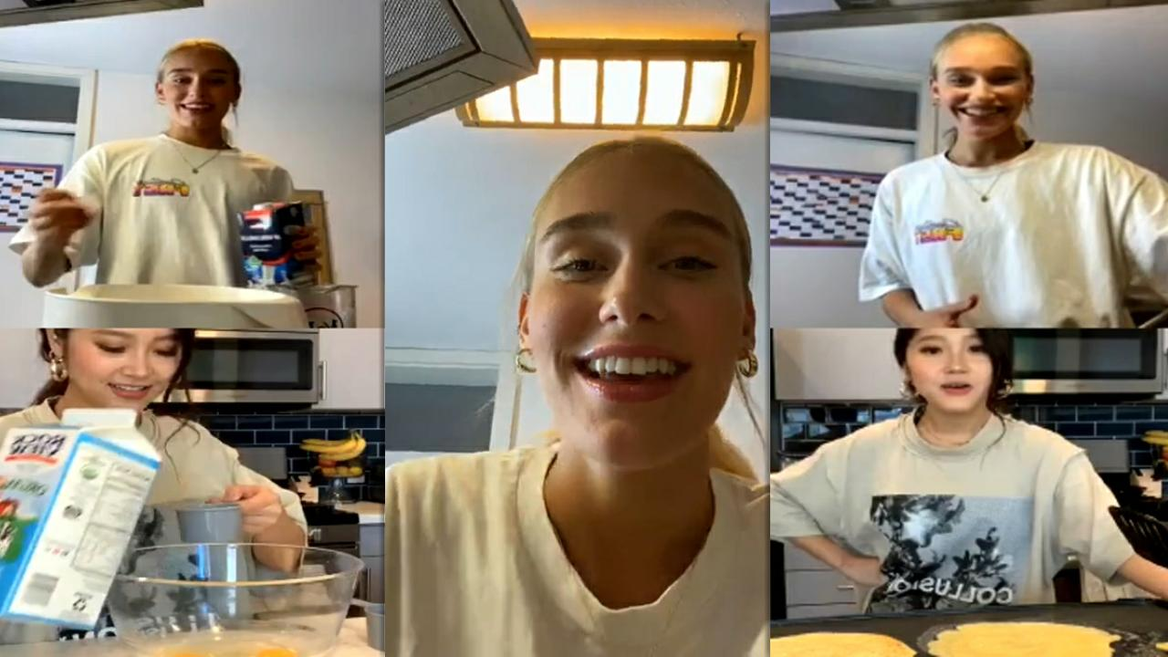 Sina Deinert's Instagram Live Stream with Heyoon Jeong from July 30th 2020.