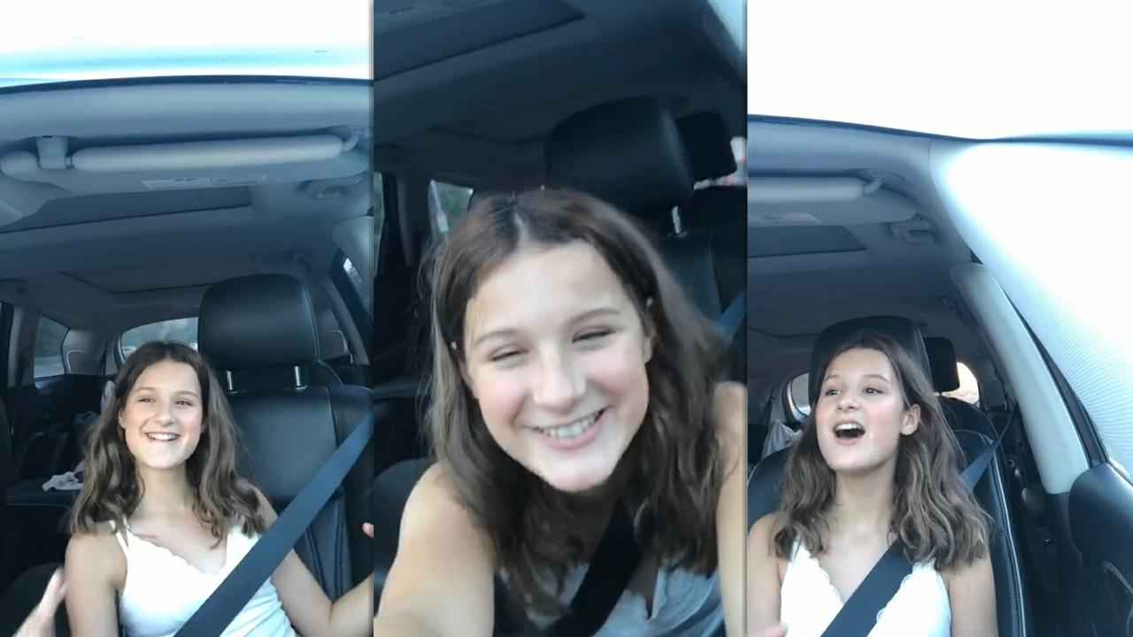 Hayley LeBlanc's Instagram Live Stream from August 23th 2020.