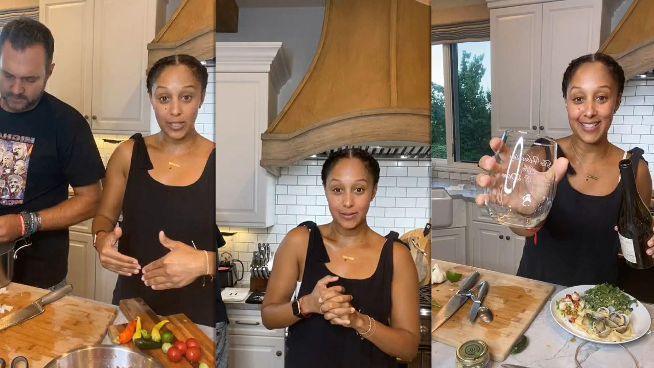 Tamera Mowry's Instagram Live Stream from August 26th 2020.