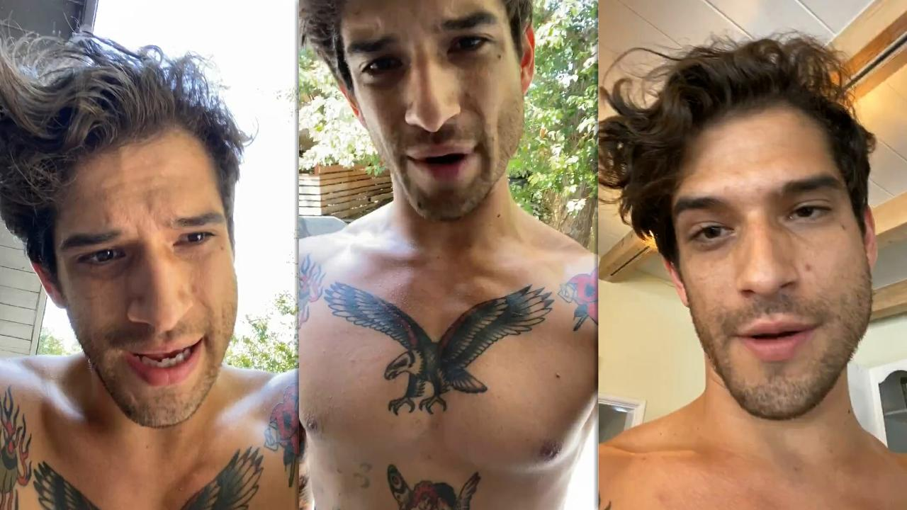 Tyler Posey's Instagram Live Stream from August 16th 2020.