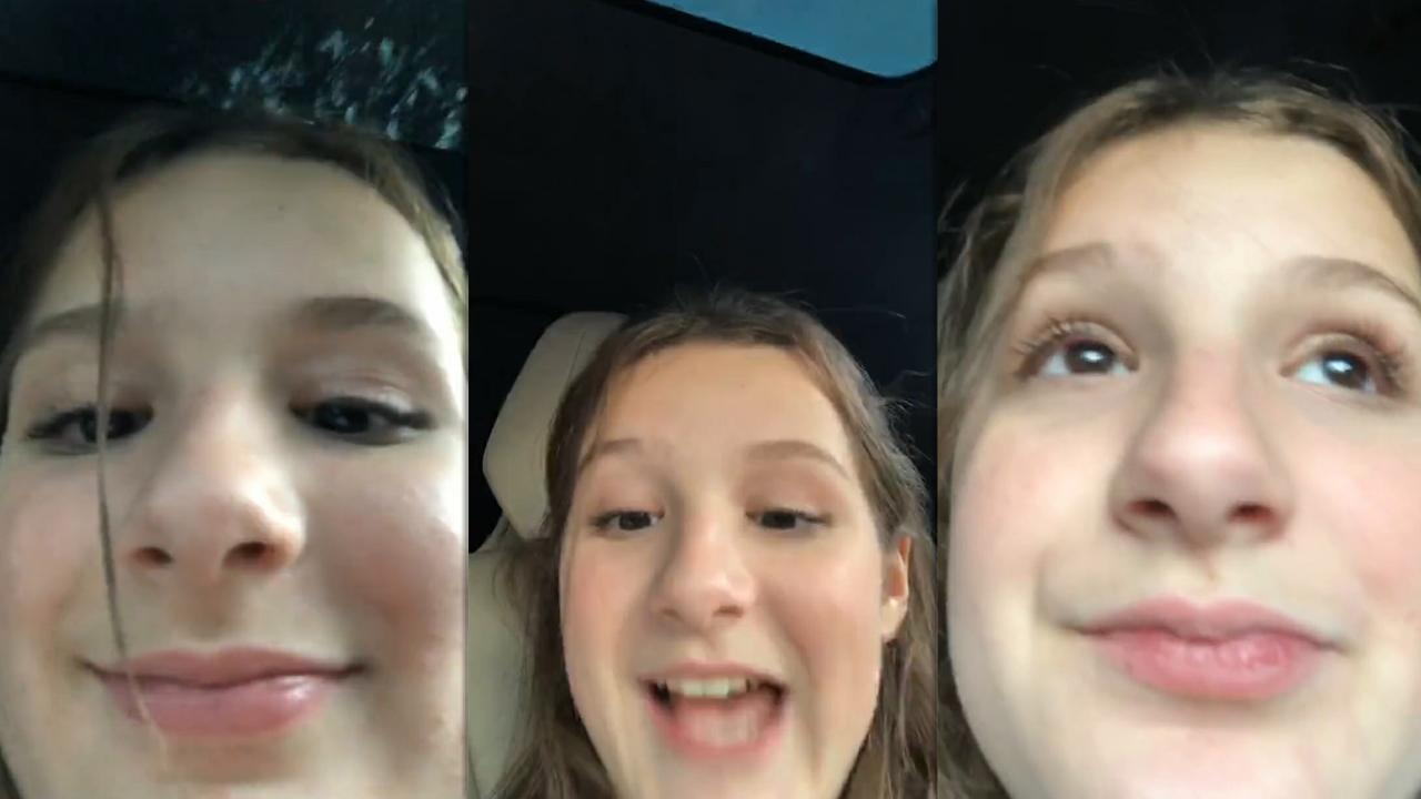 Hayley LeBlanc's Instagram Live Stream from September 4th 2020.