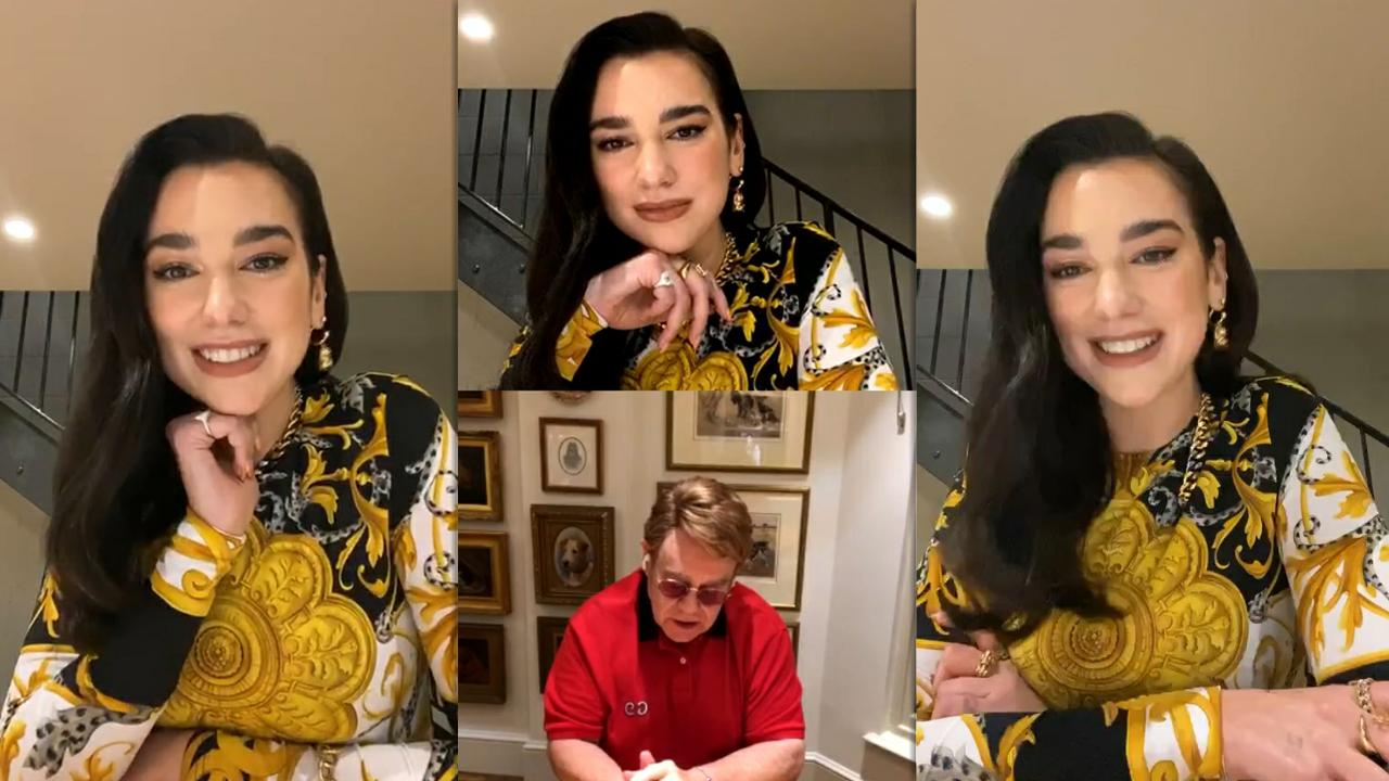 Dua Lipa | Instagram Live Stream | 28 October 2020 | IG LIVE's TV