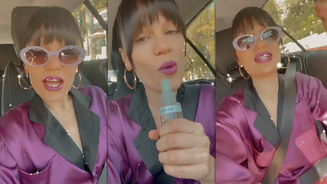 Jessie J's Instagram Live Stream from October 15th 2020.