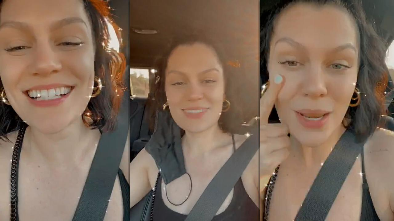 Jessie J's Instagram Live Stream from October 17th 2020.