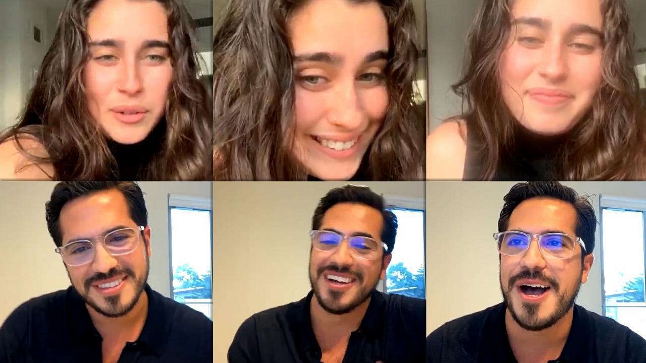 Lauren Jauregui's Instagram Live Stream from October 14th 2020.