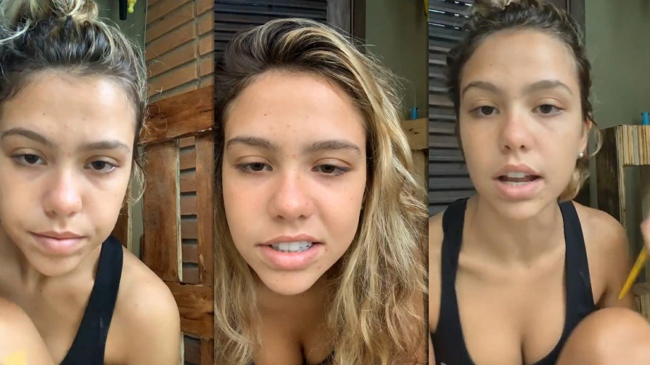 Bruna Carvalho's Instagram Live Stream from November 30th 2020.