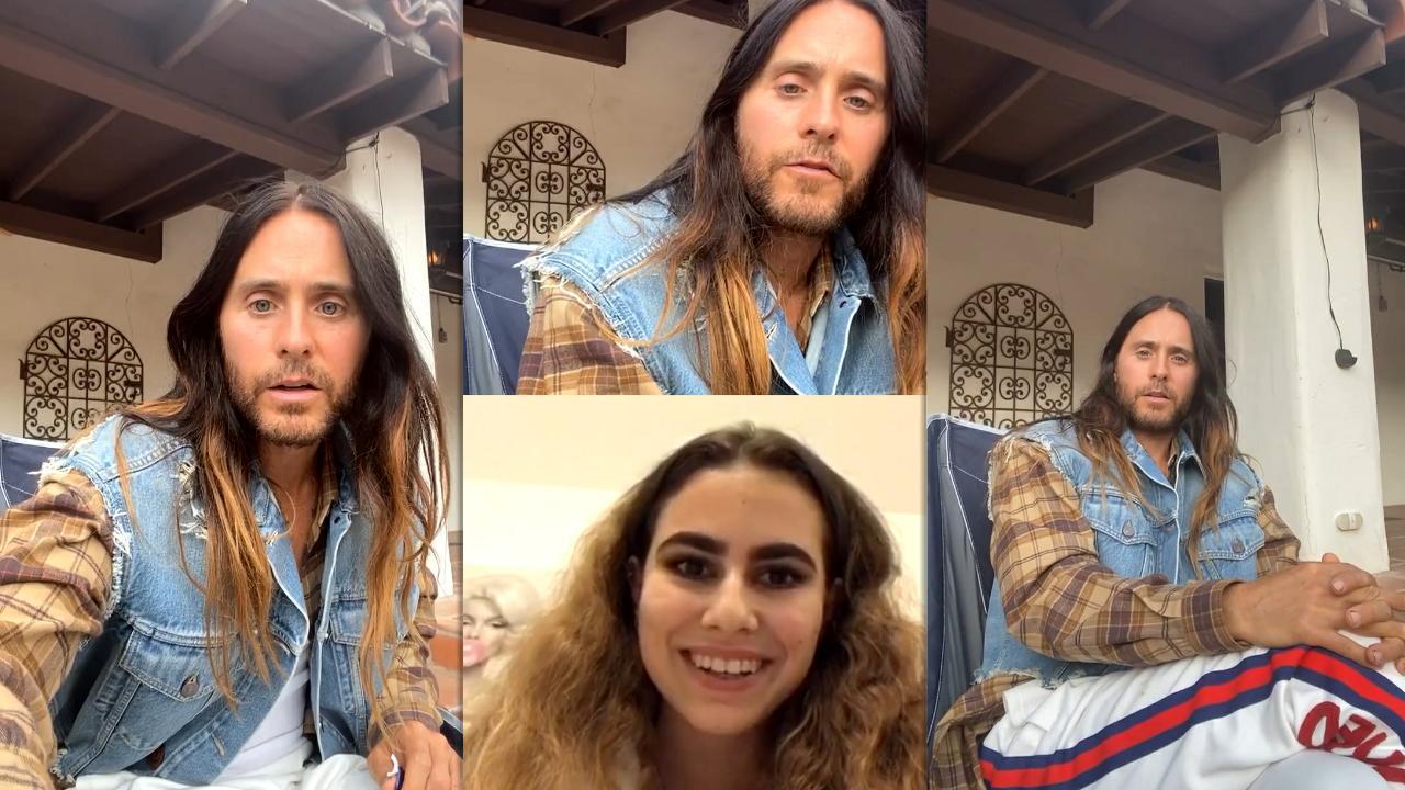 Jared Leto's Instagram Live Stream from November 20th 2020.