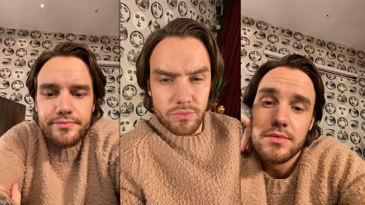 Liam Payne's Instagram Live Stream from November 21th 2020.