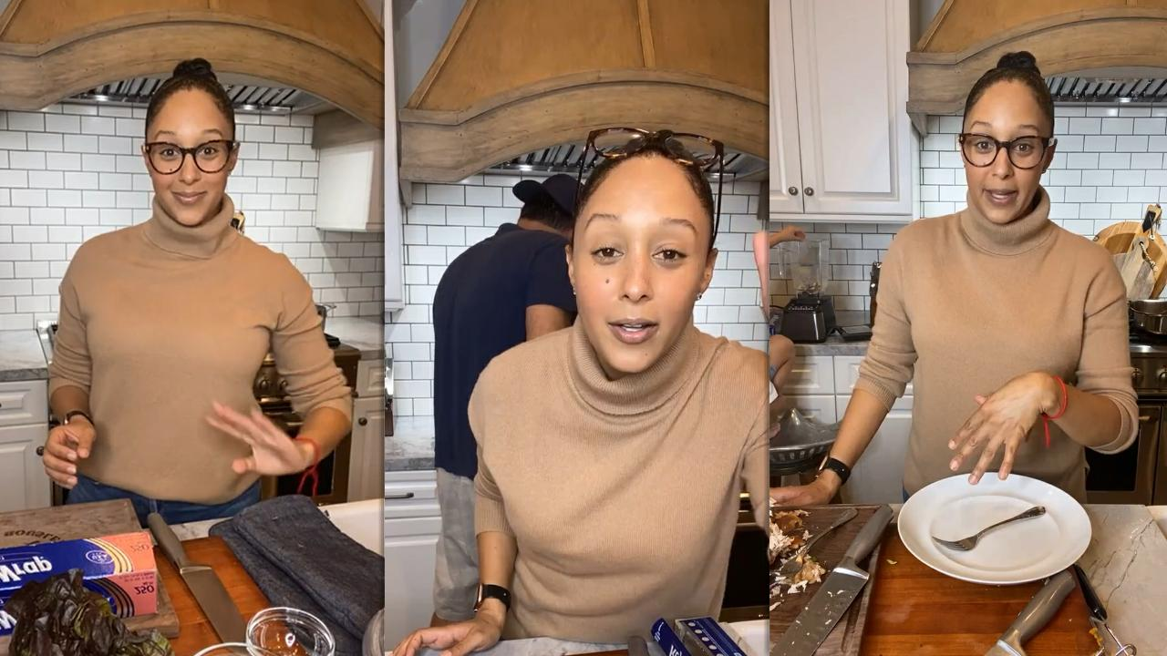 Tamera Mowry's Instagram Live Stream from January 16th 2021.