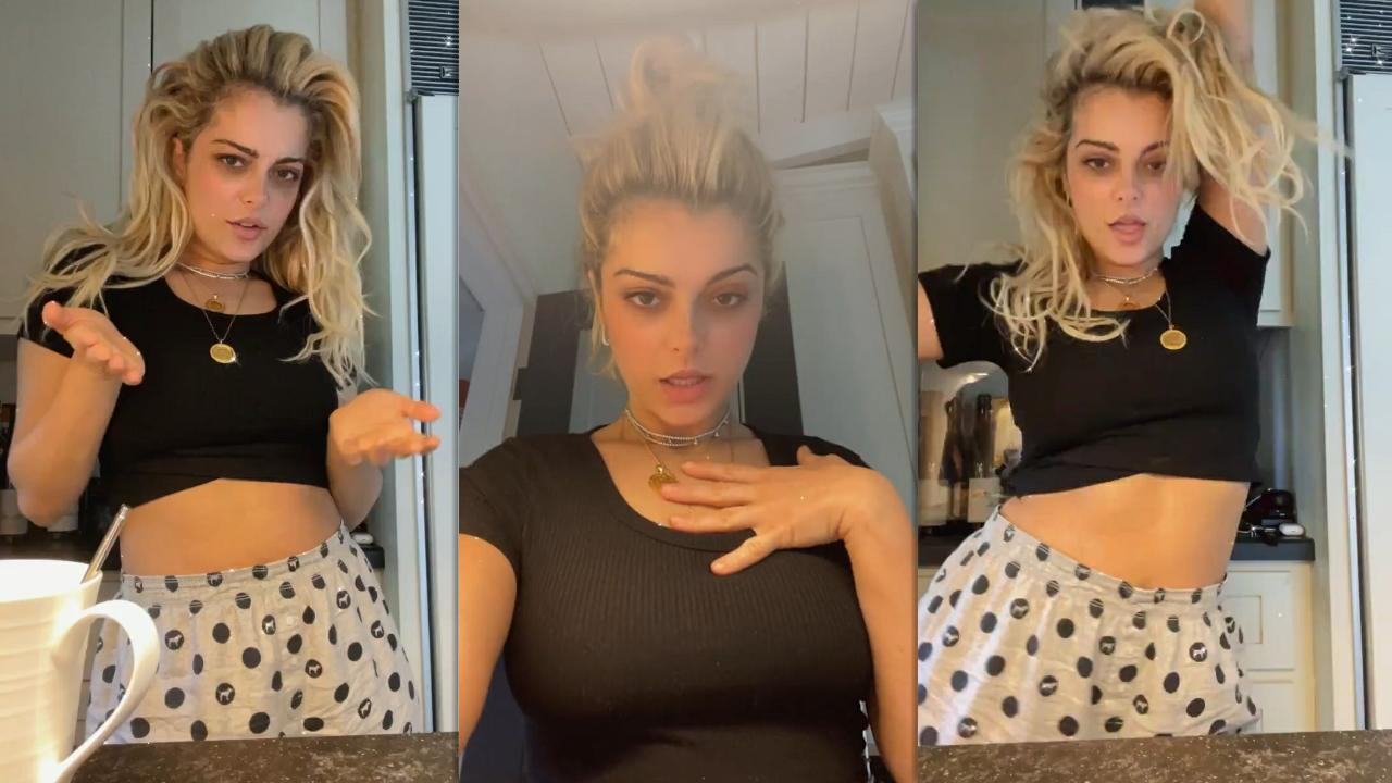 Bebe Rexha's Instagram Live Stream from February 23th 2021.