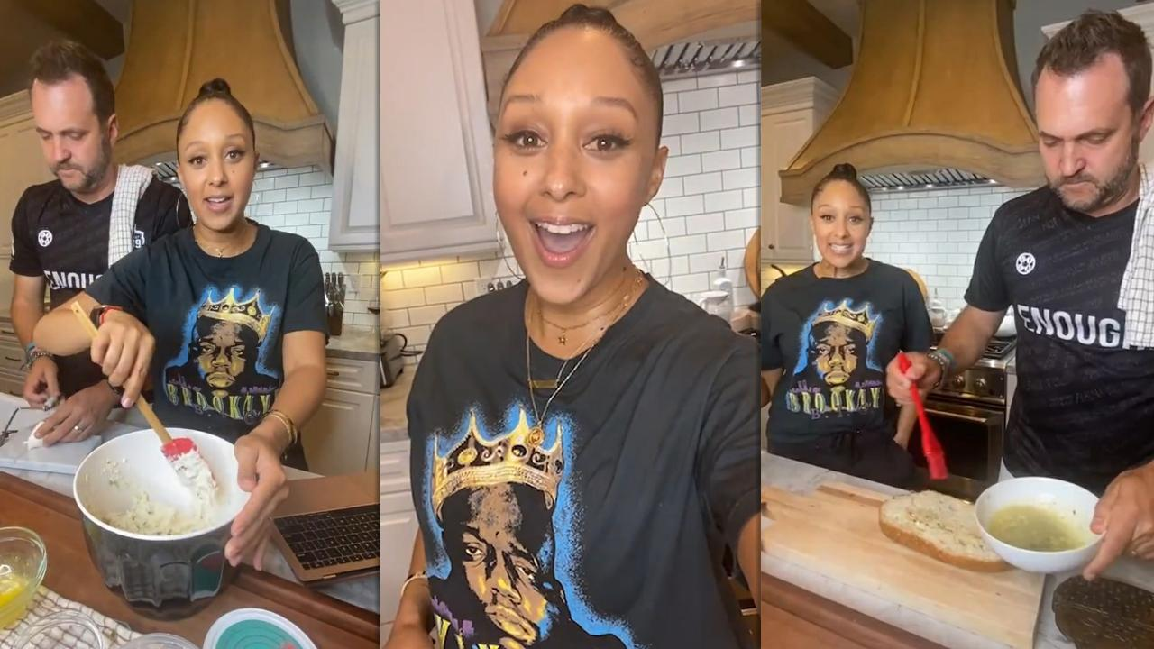 Tamera Mowry's Instagram Live Stream from February 26th 2021.