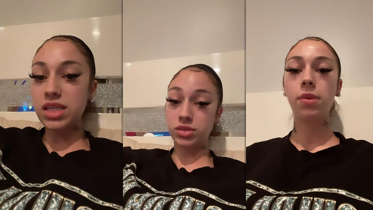 Danielle Bregoli aka Bhad Bhabie's Instagram Live Stream from March 19th 2021.
