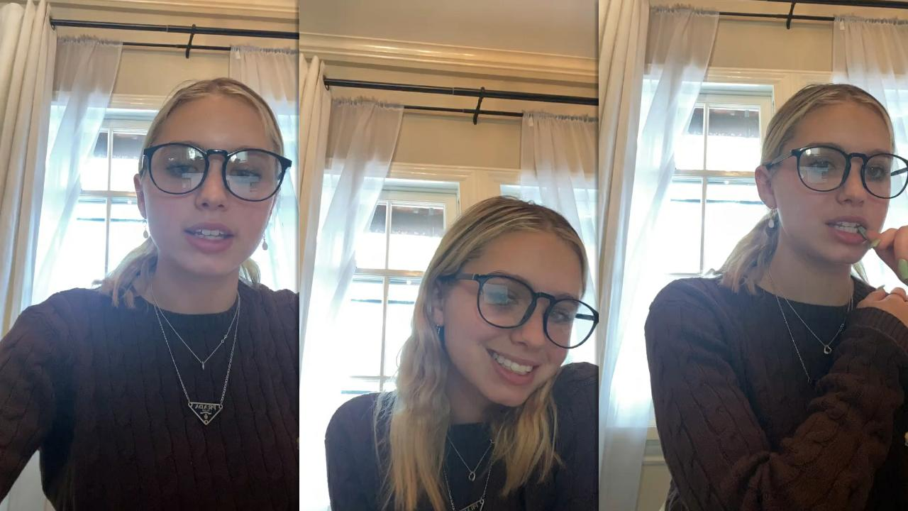 Lilia Buckingham's Instagram Live Stream from March 19th 2021.