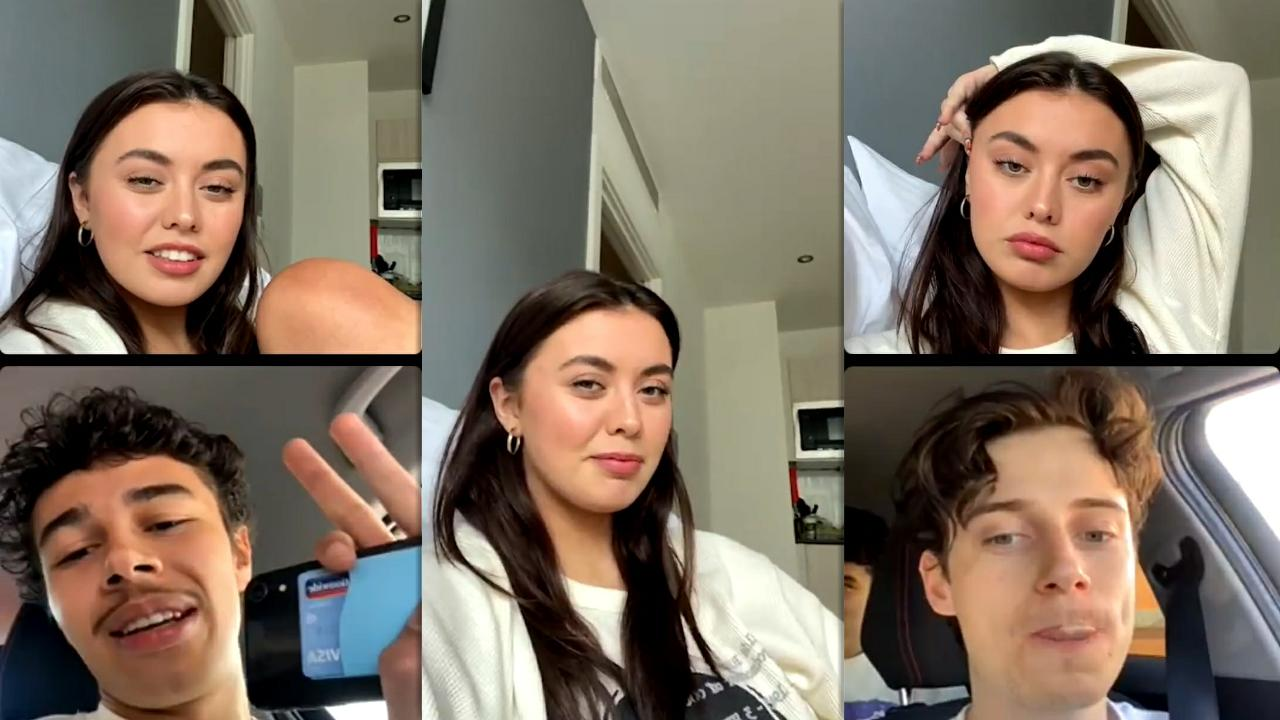 Millie Hannah's Instagram Live Stream from March 24th 2021.
