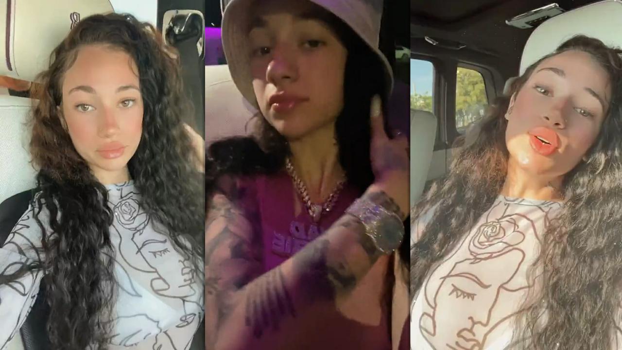 Danielle Bregoli aka Bhad Bhabie's Instagram Live Stream from April 18th 2021.