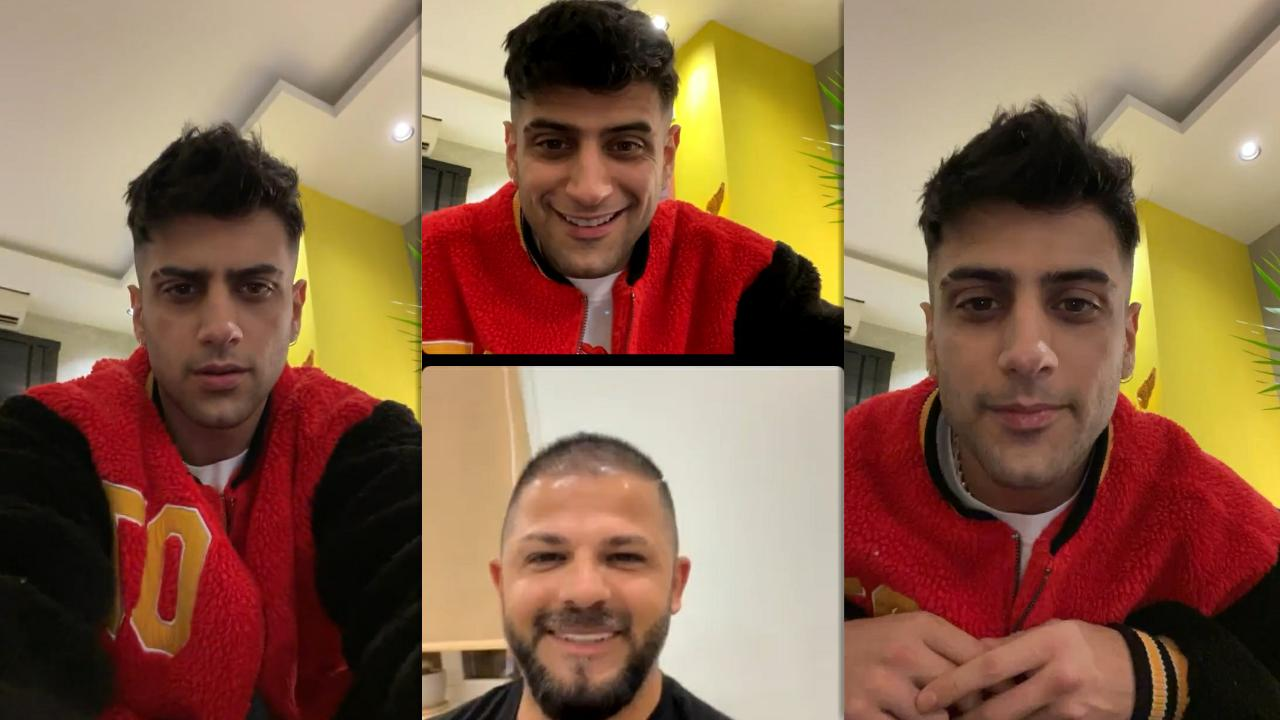 Yusuf Aktaş aka Reynmen's Instagram Live Stream from April 11th 2021.