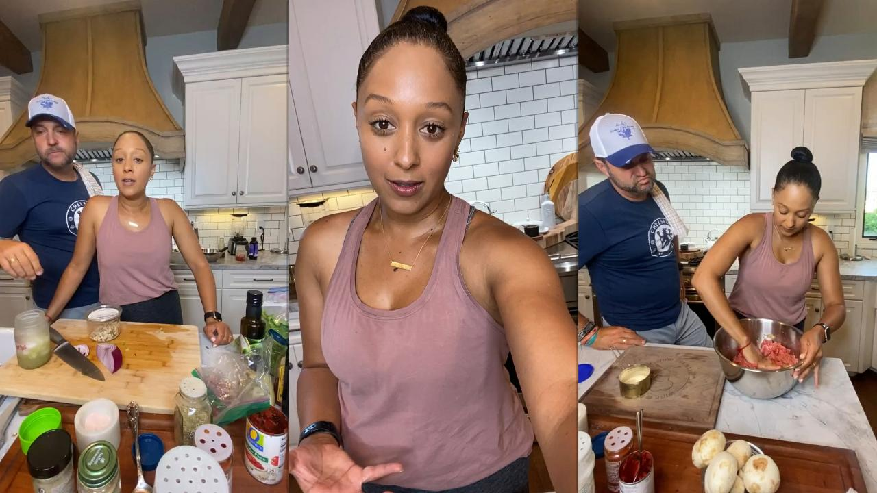 Tamera Mowry's Instagram Live Stream from June 11th 2021.