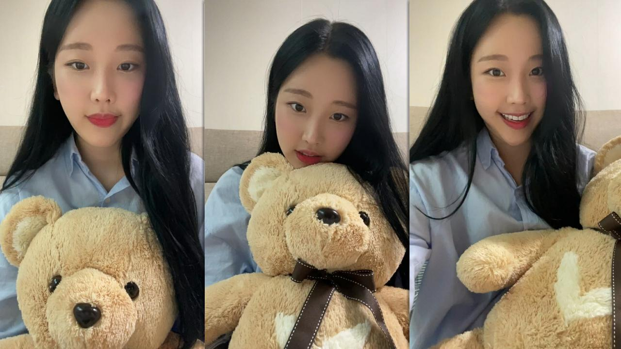 Nayun (MOMOLAND)'s Instagram Live Stream from September 13th 2021.