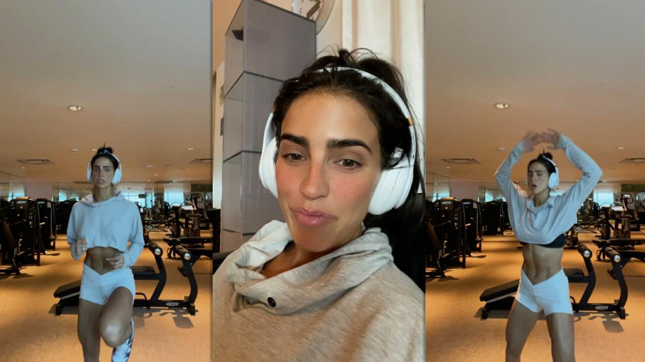 Bárbara de Regil's Instagram Live Stream from October 8th 2021.
