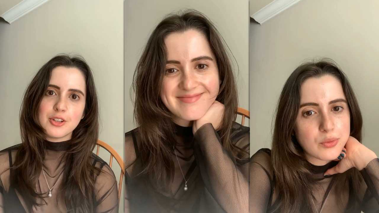 Laura Marano's Instagram Live Stream from October 12th 2021.